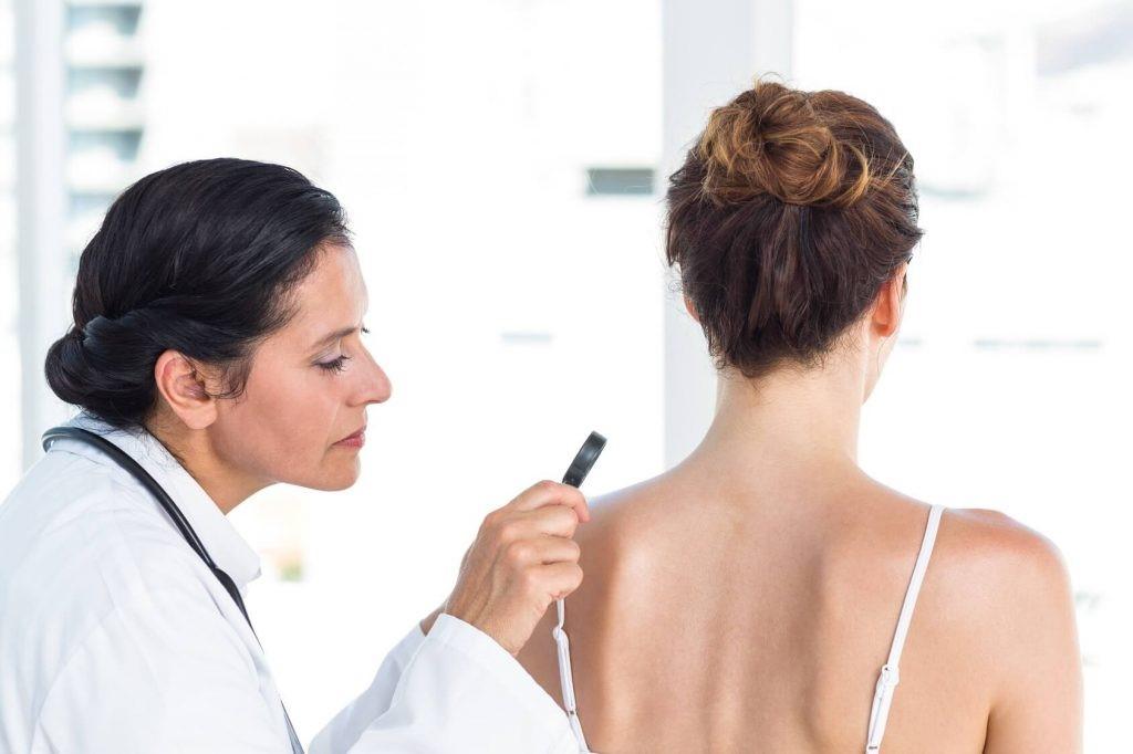 Dermatilomania. Conducta obsesiva centrada en la piel.
